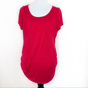 Jessica Simpson XL Red Maternity Top.